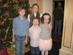 Emily and Tim's children:  Jack 10, Claire 10, Noah 6, Molly 7  (Patty Schmidt Nordahl's grandchildren)