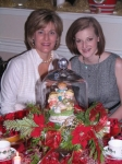 Karen Driessnack Adelman with daughter Lauren (20)- Christmas 2010.